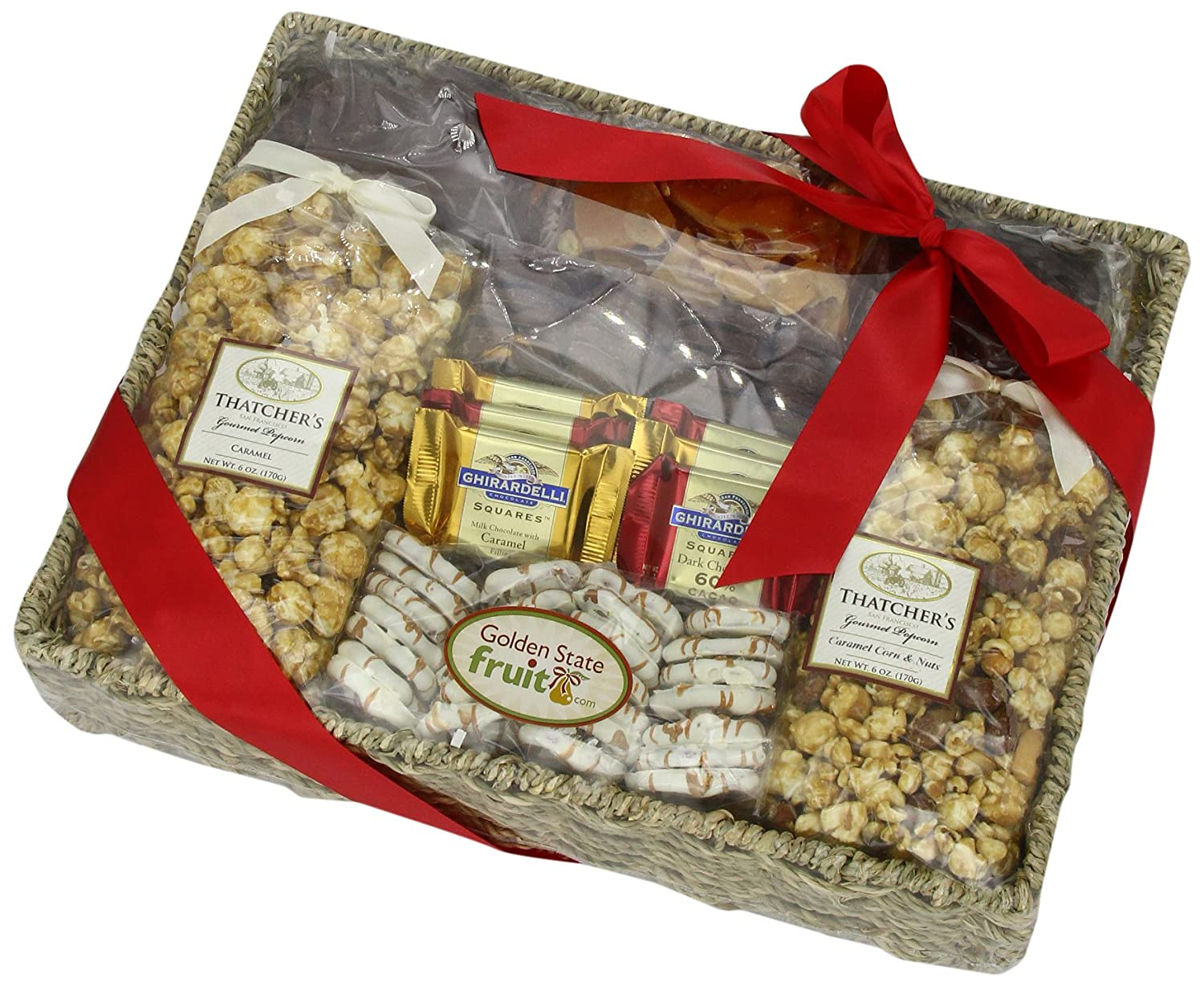 Amazon.com : Chocolate, Caramel and Crunch Grand Gift Basket ...