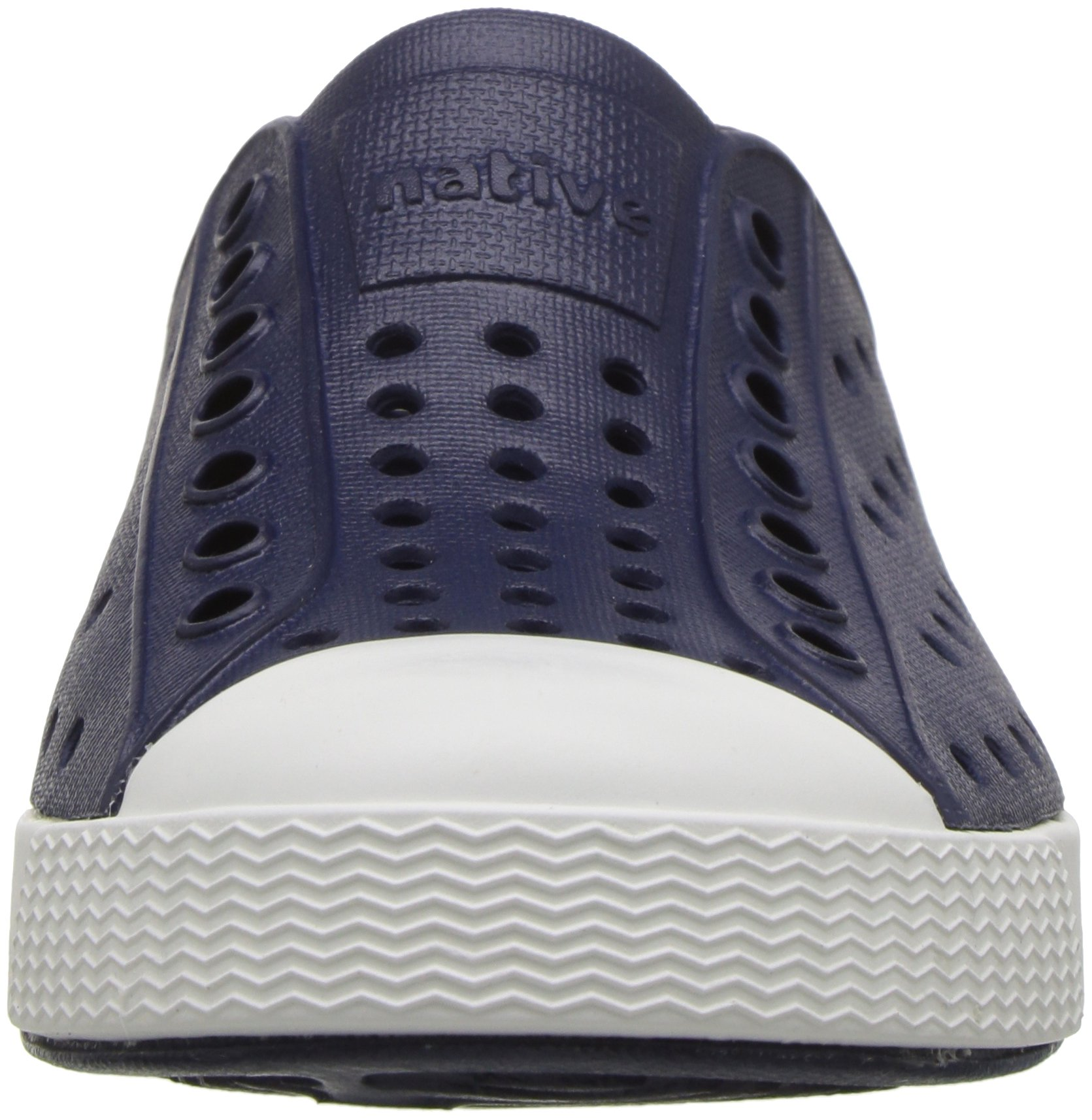 native Kids Jefferson Child Water Proof Shoes, Regatta Blue/Shell White, 6 Medium US Toddler by native (Image #4)