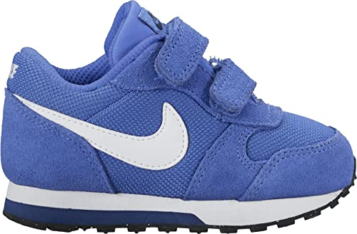 brand new 24d58 f4fda Nike MD Runner 2 (TDV), Zapatillas para Niños, (Azul Blanco Comet White Binary  Blue Black), 27 EU  Amazon.es  Zapatos y complementos