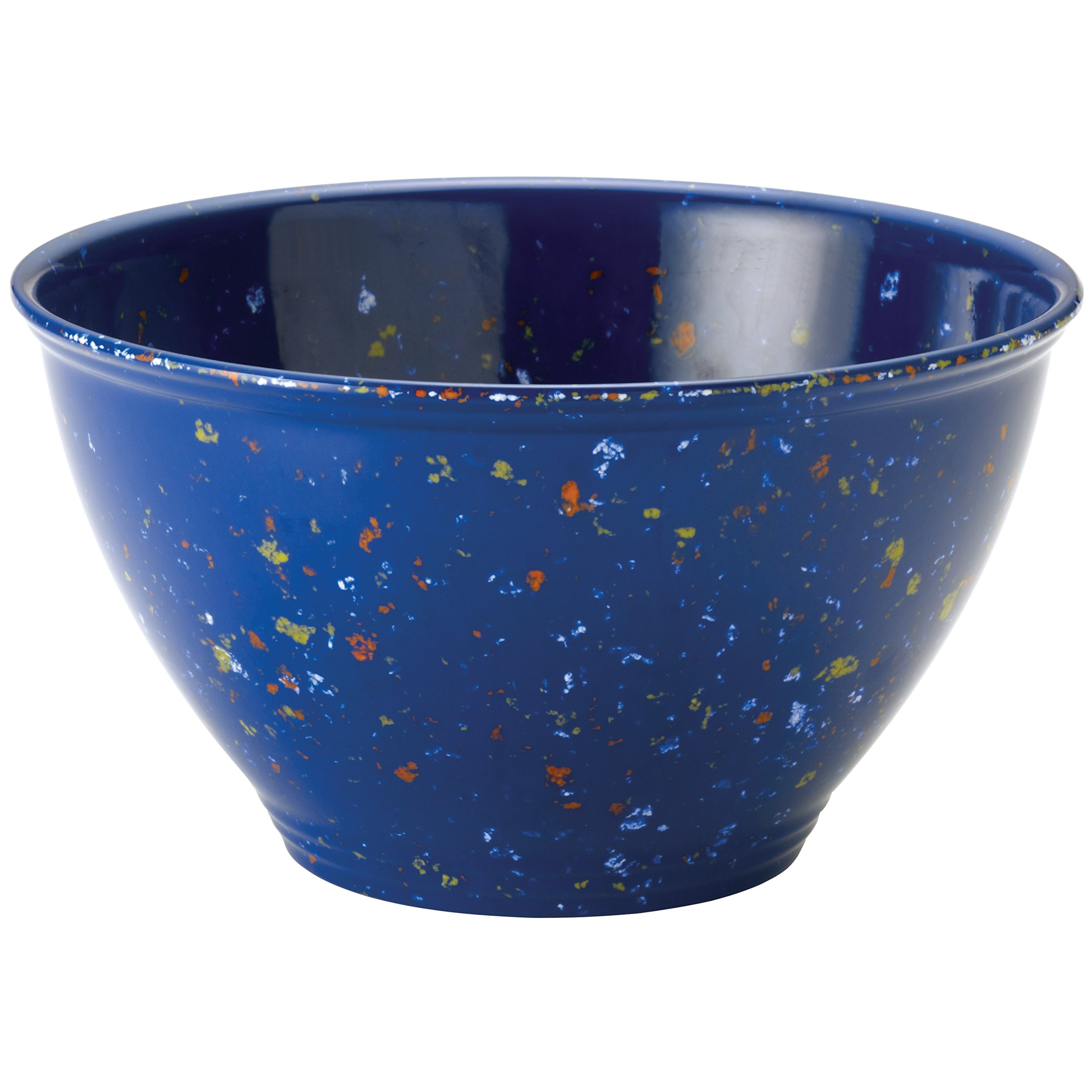 Rachael Ray Tools Garbage Bowl with Non-Slip Rubber Base, Blue