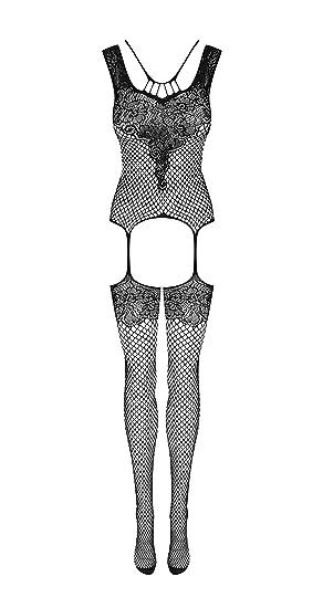 e4900ba7ca Amazon.com  Obsessive Sexy Erotic Floral Crotchless Bodystocking ...