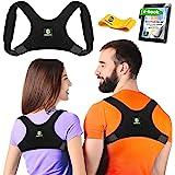 Back Posture Corrector for Women and Men - Shoulder Brace Back Posture Corrector - Upper Back Support - Back Straightener Pos