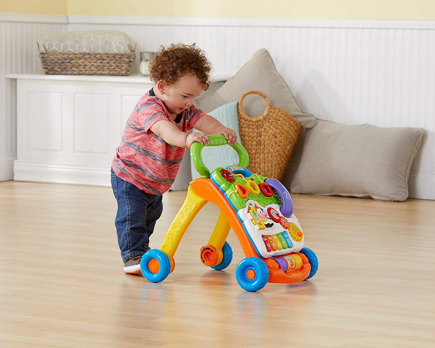 Frustration Free Packaging Lavender - VTech Sit-to-Stand Learning Walker Exclusive