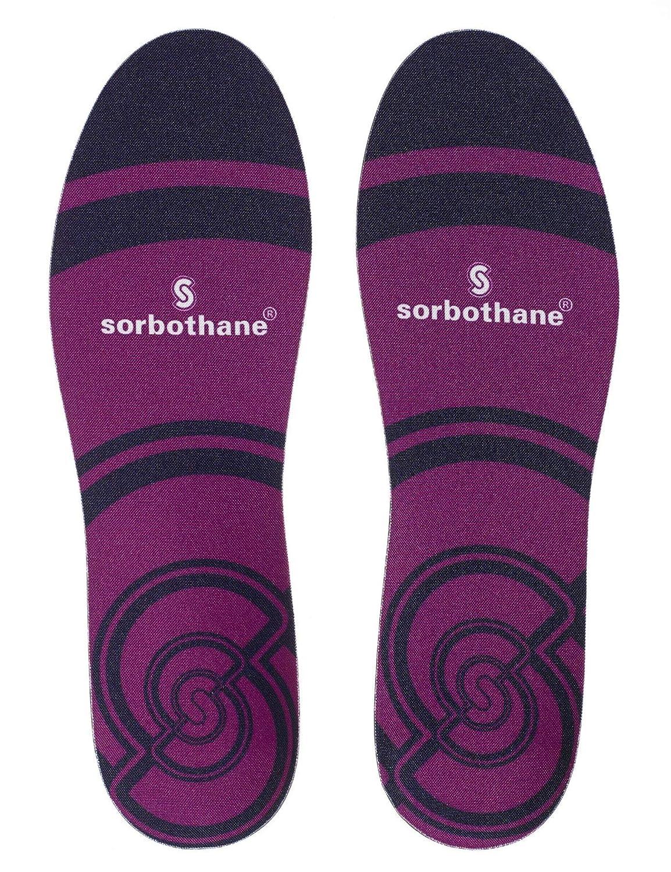 7 UK Sorbothane Unisexs 091263227 Insole Purple
