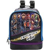 Kidztime AV-WMB0377 Marvel Avengers Infinity War Lunch Bag, Black
