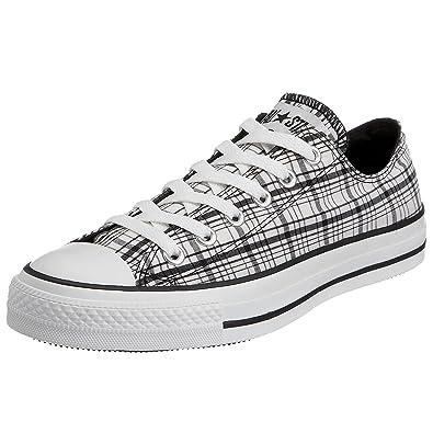 22d13e052624 Converse Chuck Taylor allstar Camp Plaid Ox Black White 109861 5 UK   Amazon.co.uk  Shoes   Bags