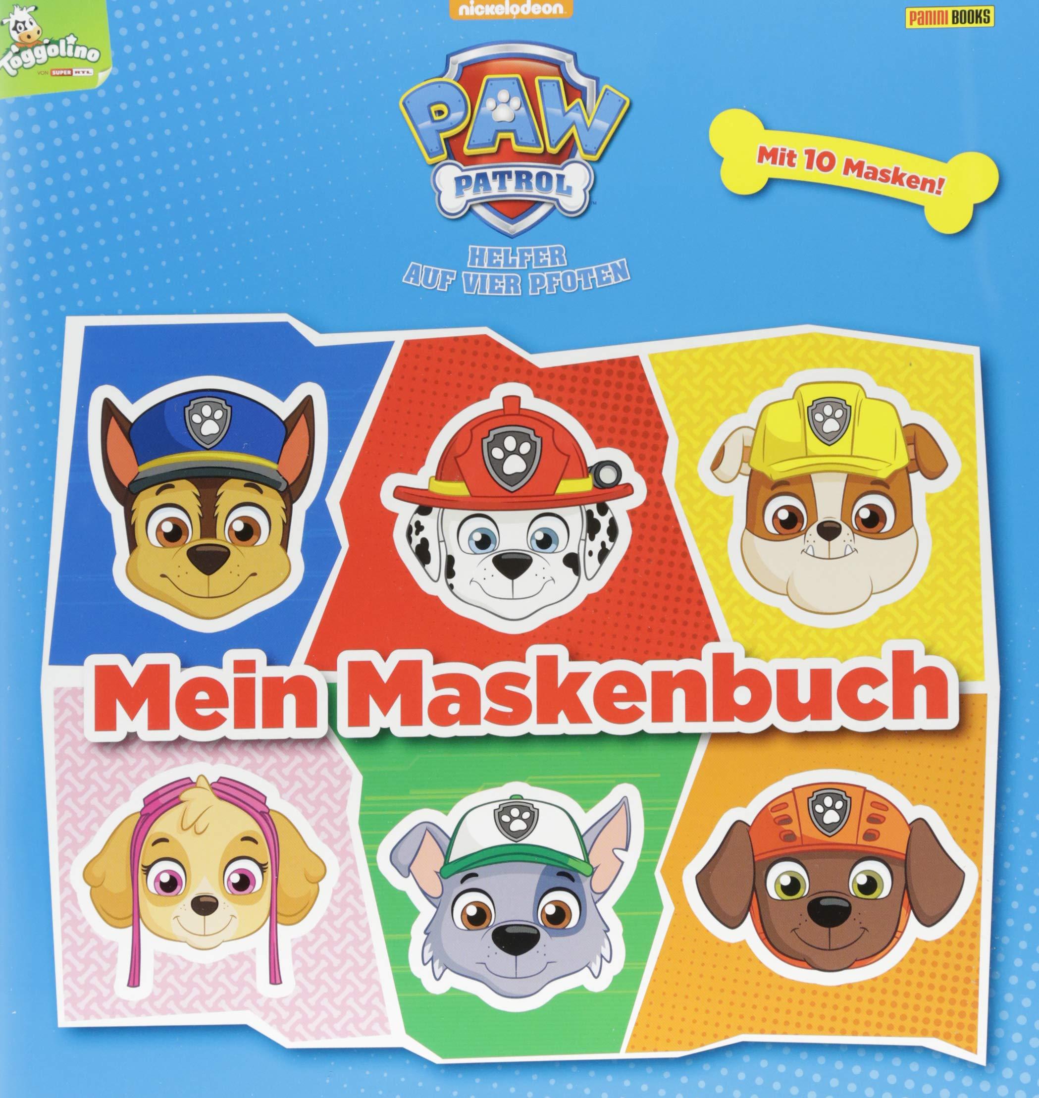 Paw Patrol Mein Maskenbuch Mit 10 Masken Amazonde Nicole
