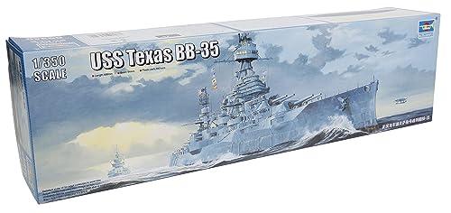 トランペッター 1/350 アメリカ海軍戦艦 BB-35 テキサス プラモデル