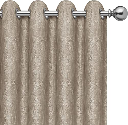 PureFit Jacquard Blackout Curtains