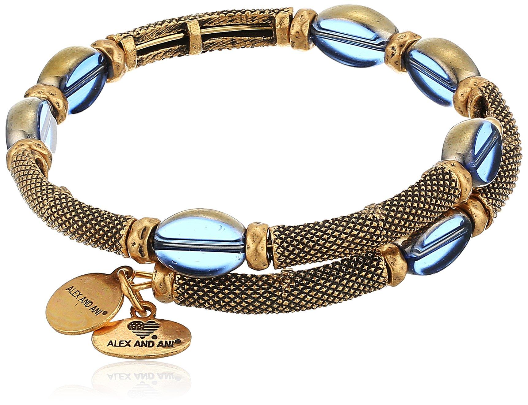 Alex and Ani Warrior Dusk Wrap Bracelet