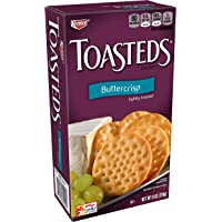 Keebler, Toasteds, Crackers, Buttercrisp, 8 oz(Pack of 6)