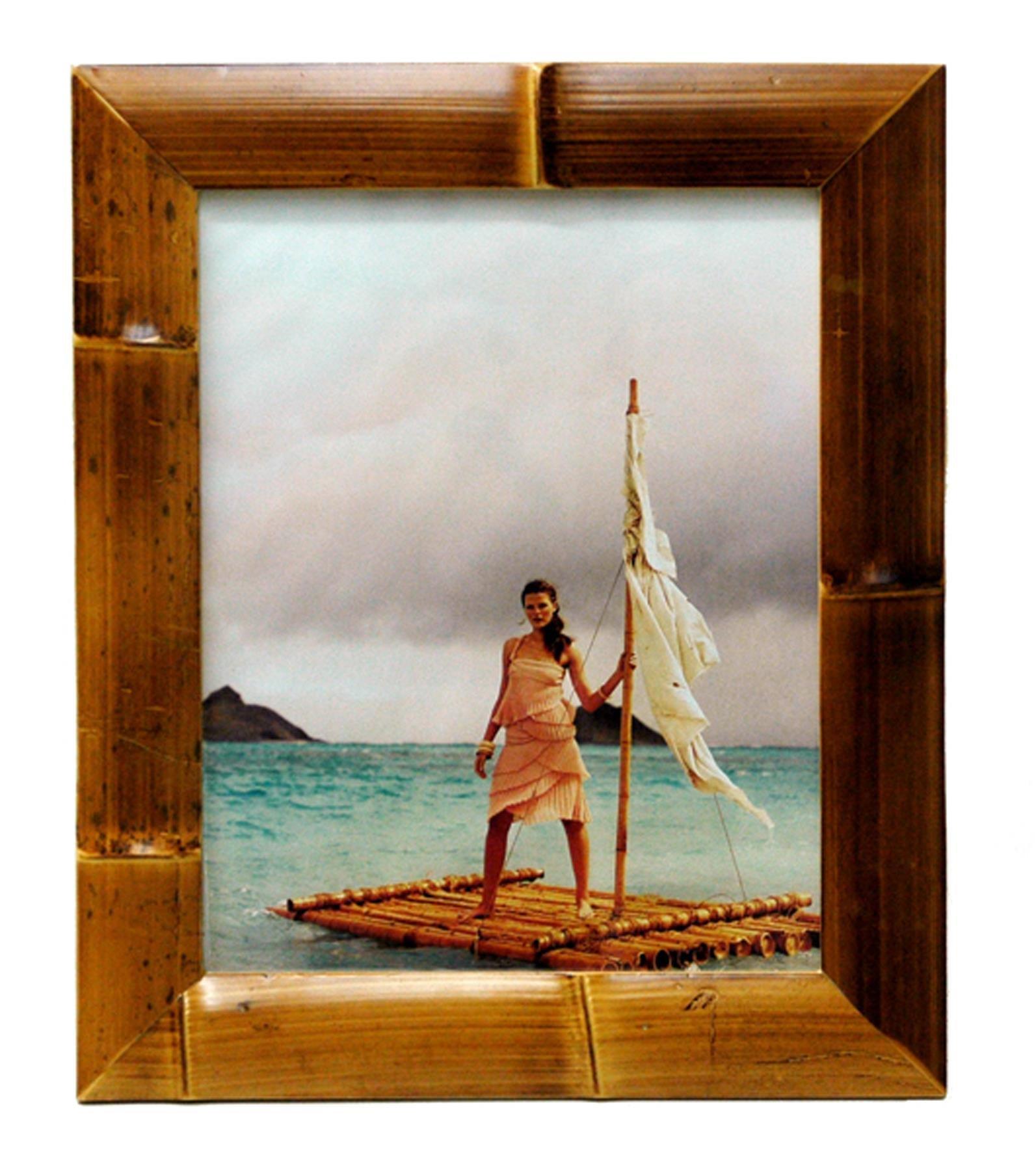 Bamboo Frame Waikiki 17.5'' Lx14.5 Wx1 H