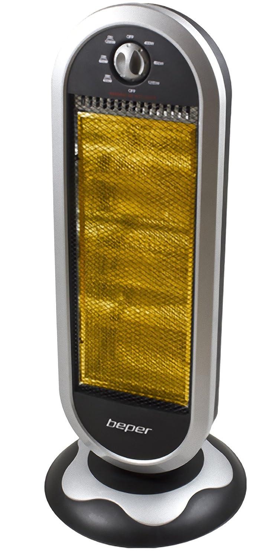 Beper RI.133 - Estufa halógena 3 elementos Maxi 1200 W ...