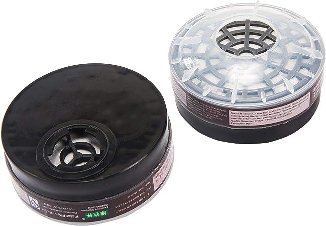 6200 Half Face Dust Gas Mask reusable respirator Painting Spraying Filters AK