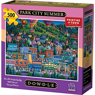 Dowdle Jigsaw Puzzle - Park City Summer - 500 Piece: Toys & Games