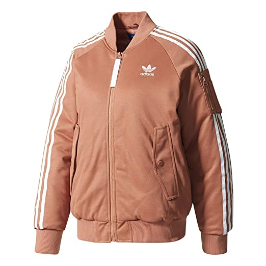 eb7c6507c adidas Originals Women SST Short MA1 Warm Padded Bomber Jacket at Amazon  Women s Coats Shop