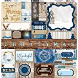 """Sleigh Ride Combo Stickers 12""""X12""""-"""