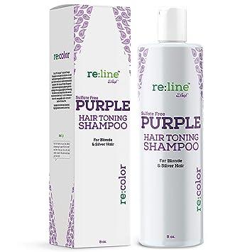 vente limitée vente la plus chaude design de qualité Purple Shampoo for Blonde Hair Toner for Blond Silver Hair Gray Hair  Sulfate Free Brightening Toning Blue Shampoo Violet Purple Hair Toner for  ...