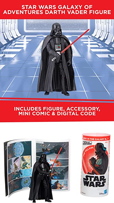 Star Wars Galaxy of Adventures Kylo Ren 3.75 Action Figure /& Mini-Comic