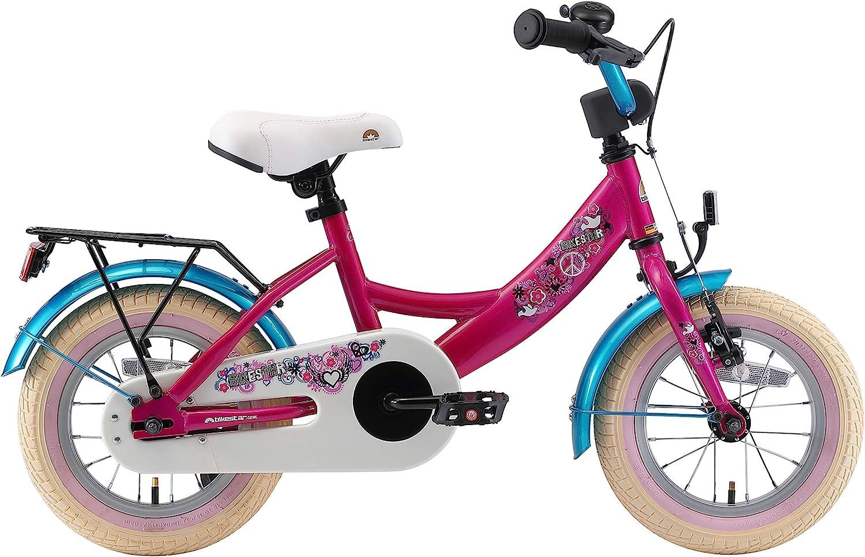 BIKESTAR V/élo Enfant pour Garcons et Filles de 3-4 Ans Bicyclette Enfant 12 Pouces Classique avec Freins