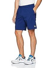 Wilson Pantalón corto de hombre, M Team 8 Short, Poliéster, Azul, Talla: M, WRA765503