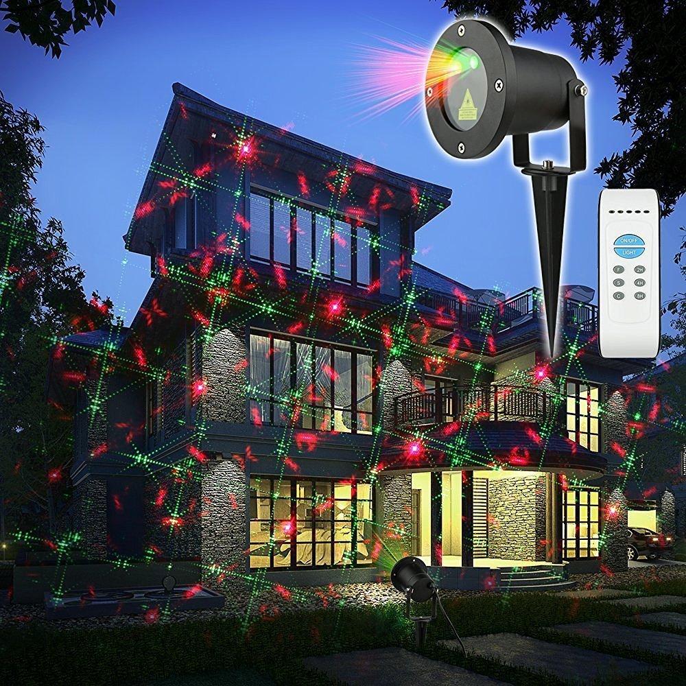 lovely KING DO WAY Landscape Spotlight Halloween Light Show LED ...