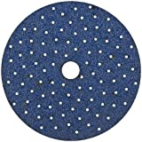 "Norton 07660768279 Cyclonic Hook and Loop Multi Hole Disc, 5"", 40 Grit (Pack of 50)"