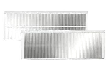 2 St. Ersatzfilter-Set f/ür Zehnder ComfoAir Q350//Q450//Q600 G4