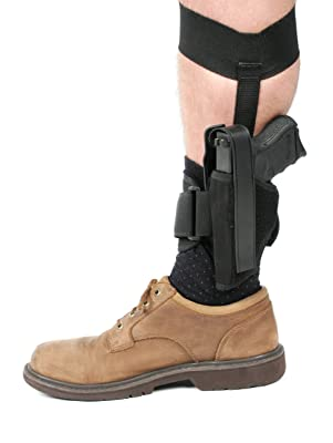 BLACKHAWK! Ankle Holster, Black/Size 01, Right Hand