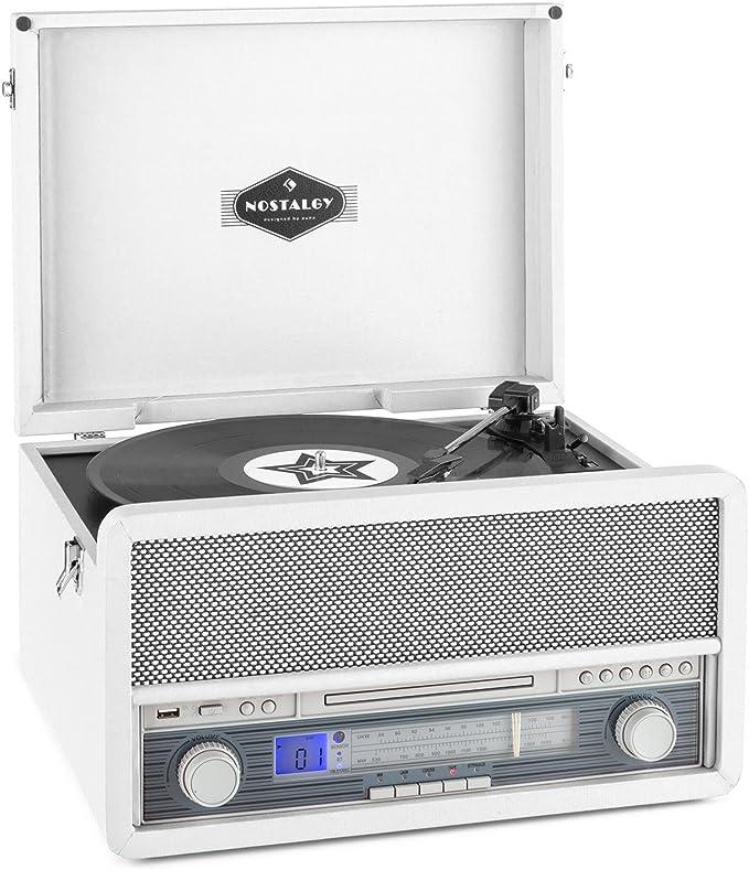 auna Belle Epoque 1907 - estéreo, Tocadiscos, máx. 78 RPM ...