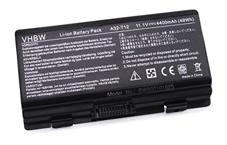 vhbw Li-Ion batería 4400mAh (11.1V) para Notebook Packard Bell EasyNote Alpha