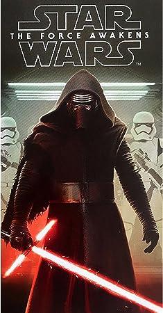 Disney Star Wars The Force Awakens Velour Towel Multi