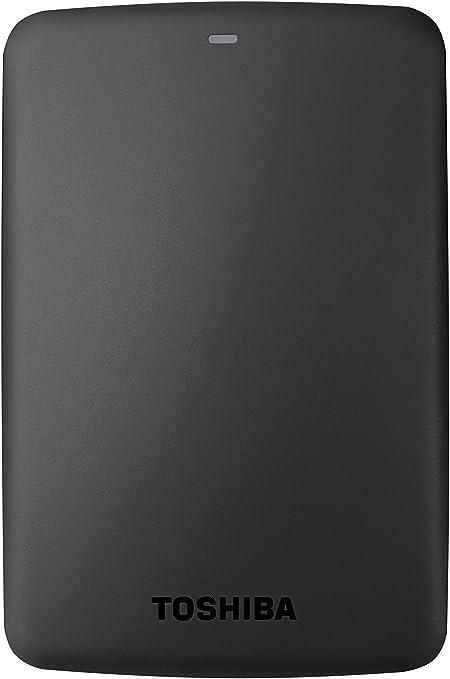 Toshiba Canvio Basics - Disco duro externo, 2.5 pulgadas (6.4 cm), Negro, 3 TB: Toshiba: Amazon.es: Informática