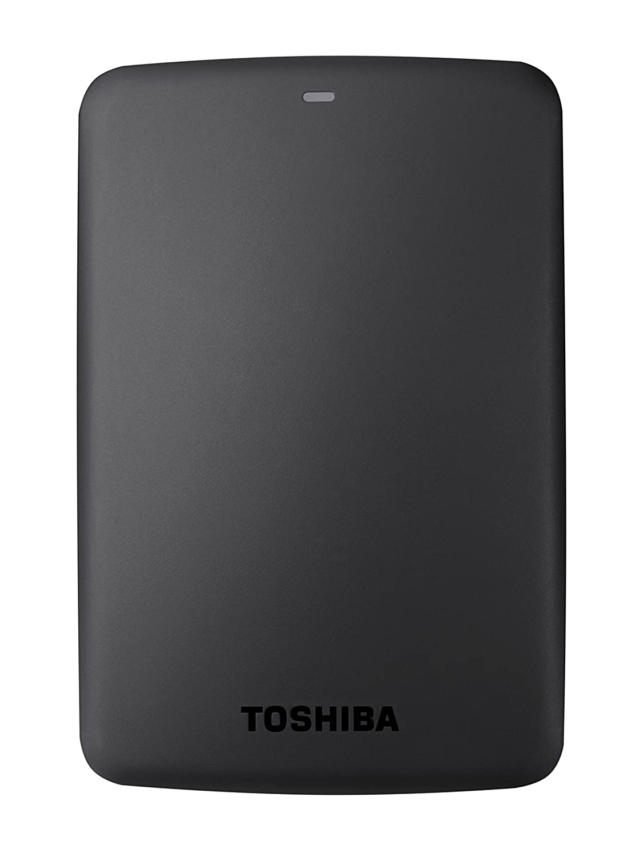 Toshiba HDTB330EK3CB Canvio Basics Tragbare Externe Festplatte USB 3.0, 3TB schwarz 199204