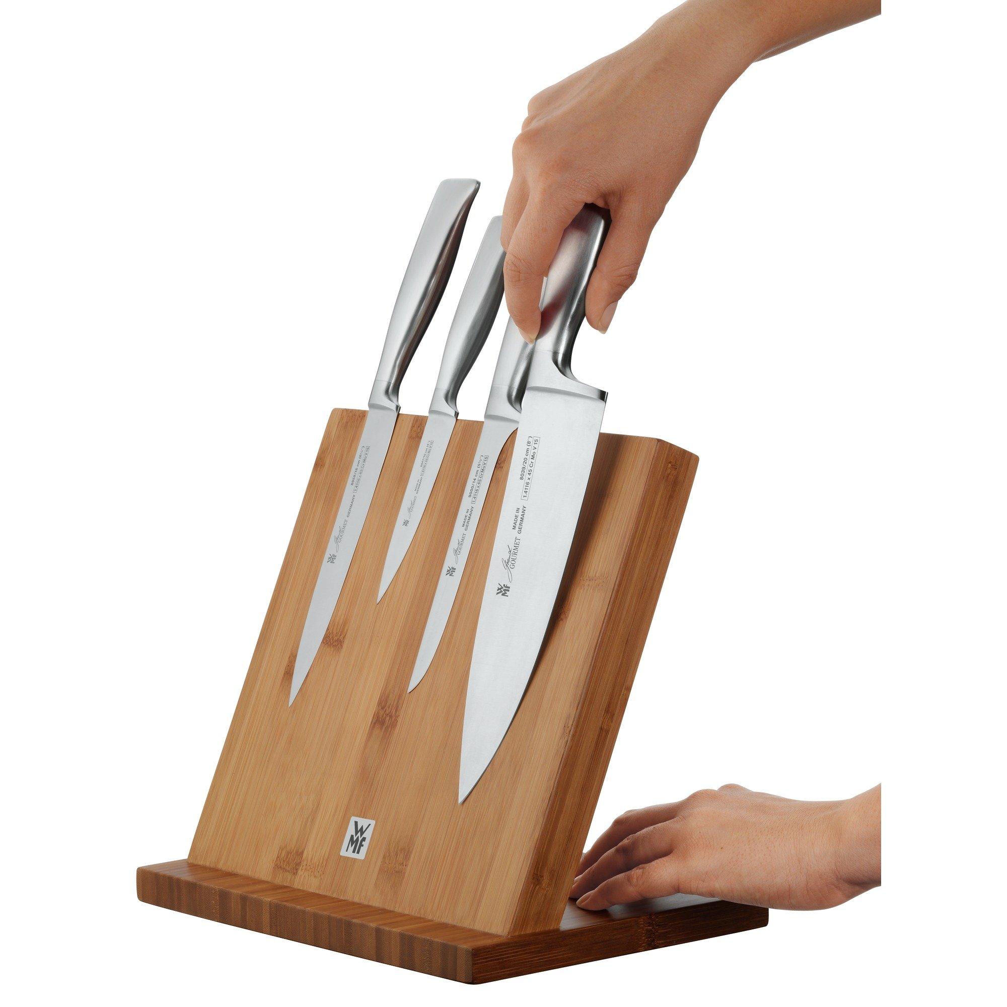 WMF Wood Empty Magnetic Knife Block, Beige by WMF (Image #2)