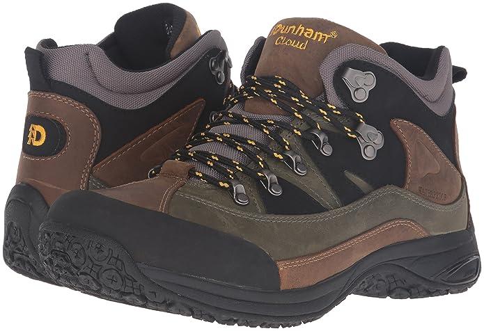 d8ec925752d41 Amazon.com | Dunham Men's Cloud Mid-Cut Waterproof Boot, Grey - 10 B(N) US  | Hiking Boots