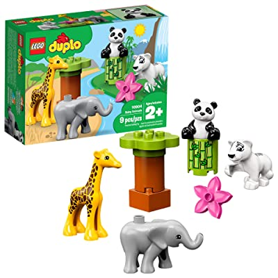LEGO DUPLO Town Baby Animals 10904 Building Bricks (9 Pieces): Toys & Games