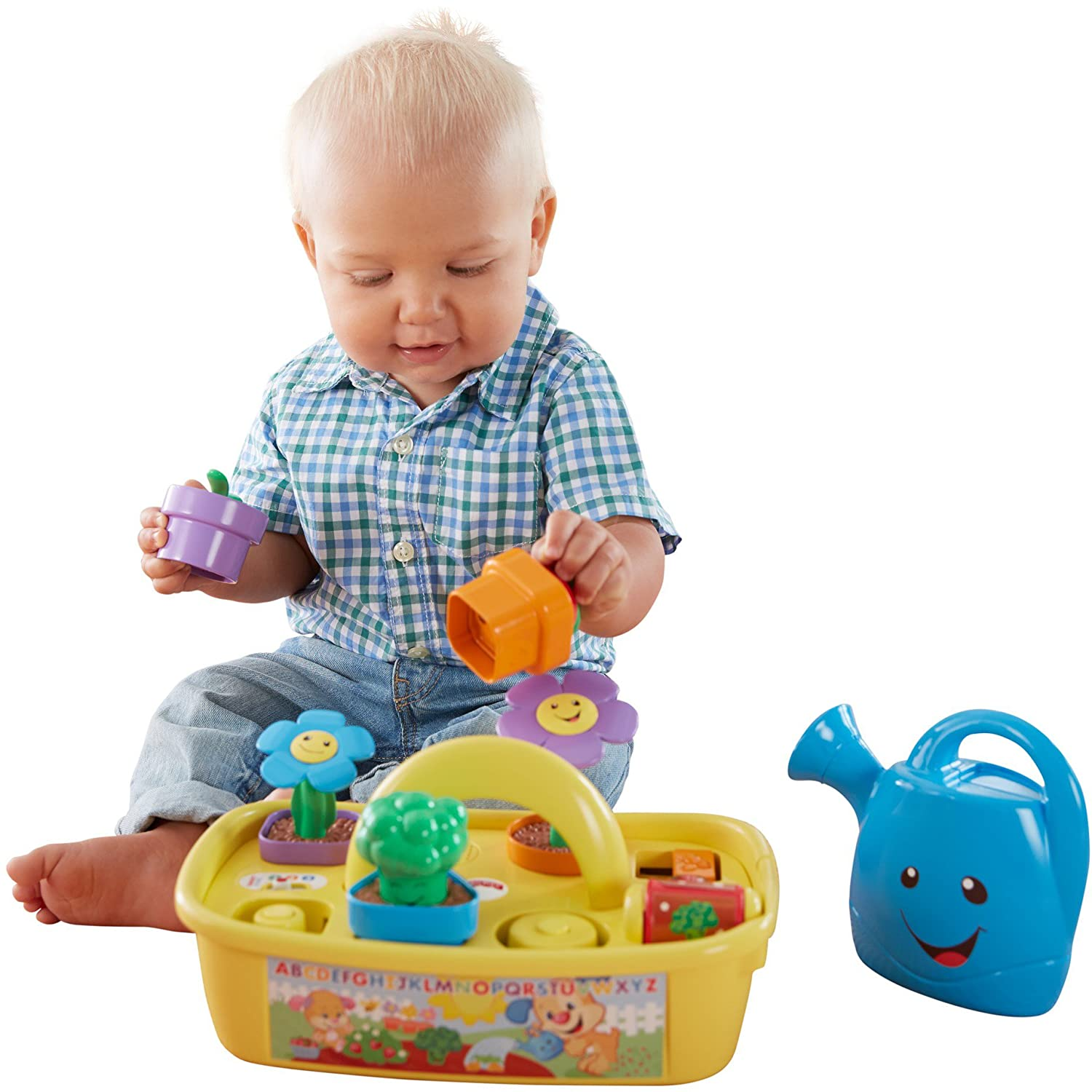 Amazon Fisher Price Laugh & Learn Smart Stages Grow n Learn