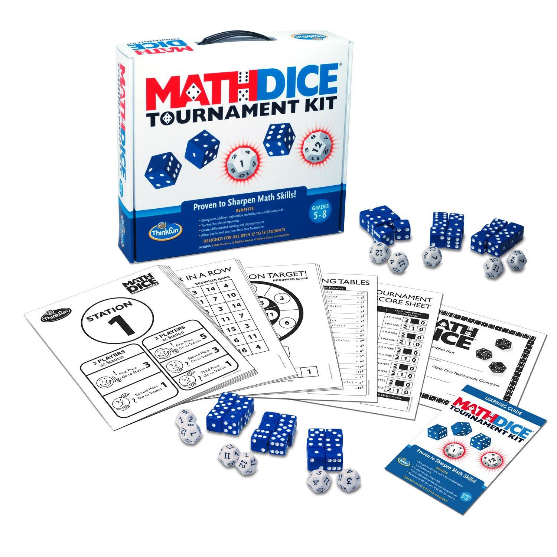 Math Dice Tournament Kit by Think Fun