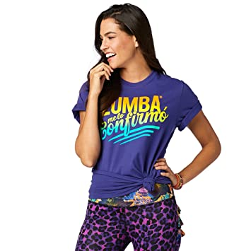 Z3t00099 And taille T Blue Zumba Fr Shirt Fitness You Femme pgPqnTx f2a2e786b86