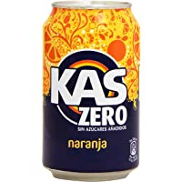 Kas refresco de Zumo de Naranja con Edulcorantes
