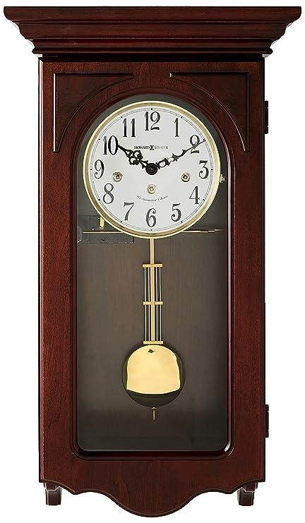 Amazon Com Howard Miller 620 445 Jennelle Wall Clock Home Kitchen