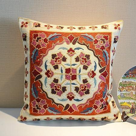 Memorecool Nepal Embroidery Pattern Pillow Shamhandmade Exquisite