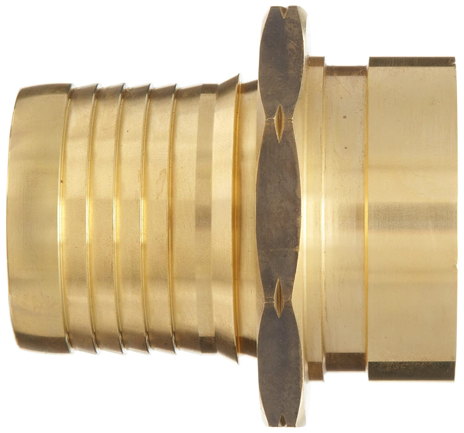 2 Grooved End x 2 Hose ID Barbed 2 Grooved End x 2 Hose ID Barbed Dixon Valve /& Coupling Dixon G5242 Brass Scovill Style Internally Expanded Permanent Holedall Fitting Groove Coupler
