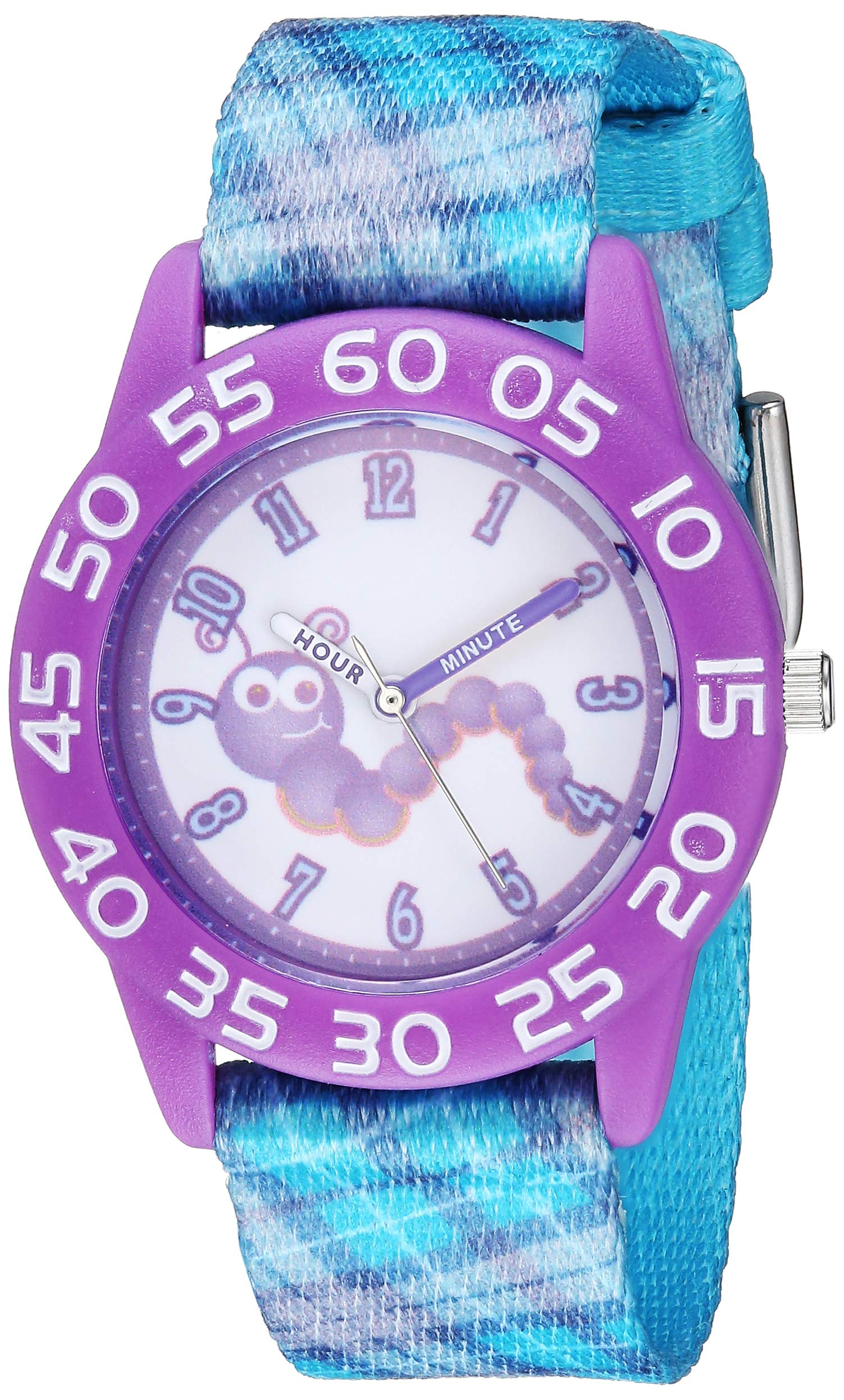 Red Balloon Girls Stainless Steel Analog-Quartz Watch with Nylon Strap, Blue, 16 (Model: WRB000068) by Red Balloon