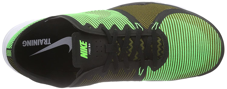 online store ba901 3bd51 Nike Free Trainer 3.0 V4, Chaussures d Athlétisme Homme, Vert-Grün  (Schwarz Milizgrün Weiß Spannungsgrün 033), 47 EU  Amazon.fr  Chaussures et  Sacs