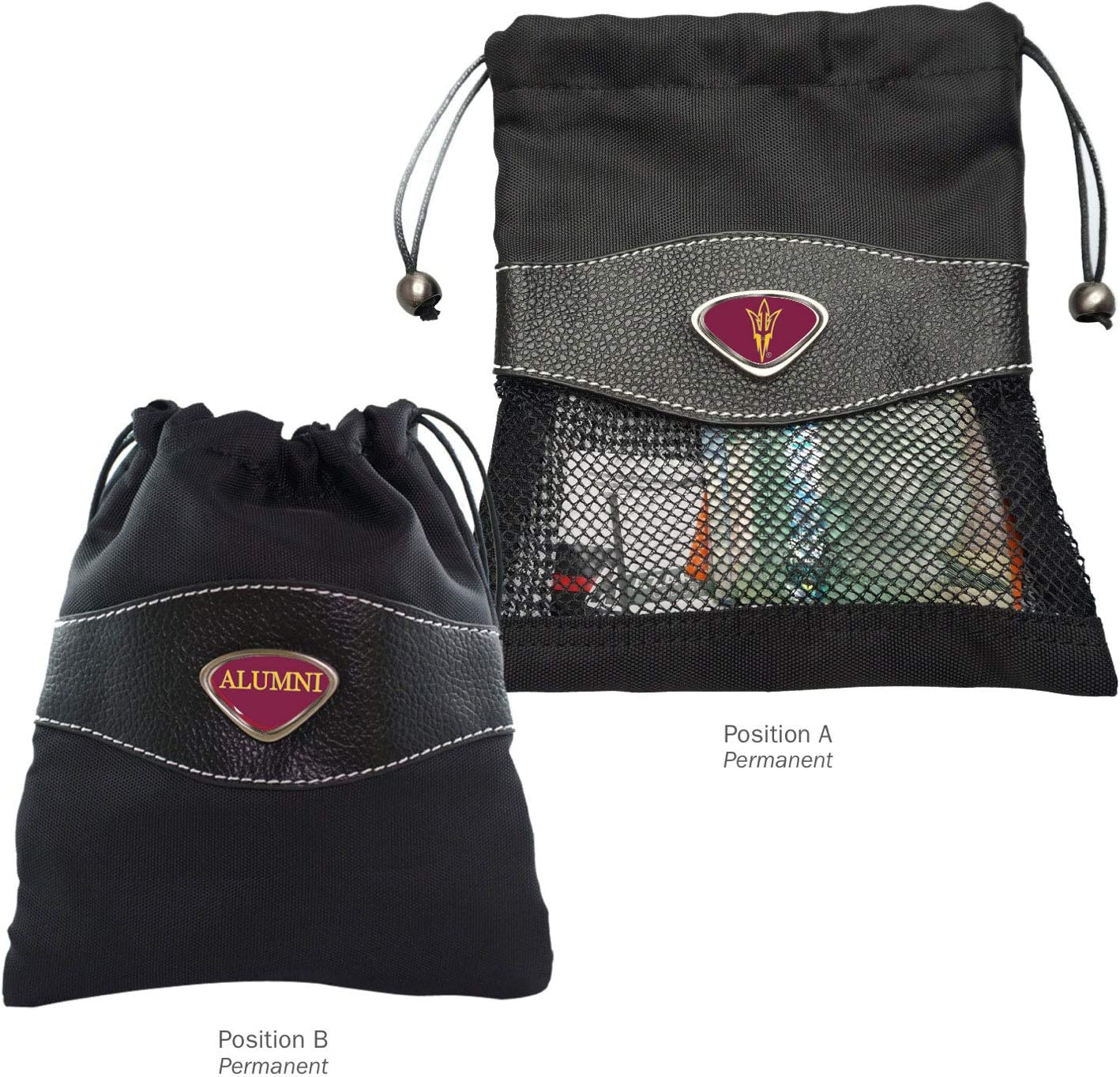 Black One Size AdSpec NCAA Florida State Seminoles Collegiate Womens Duffel BagCollegiate Womens Duffel Bag