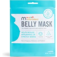 Munchkin Milkmakers Belly Mask for Pregnancy Skin Care & Stretch Marks, 1 Sheet Mask, 1.0 Count