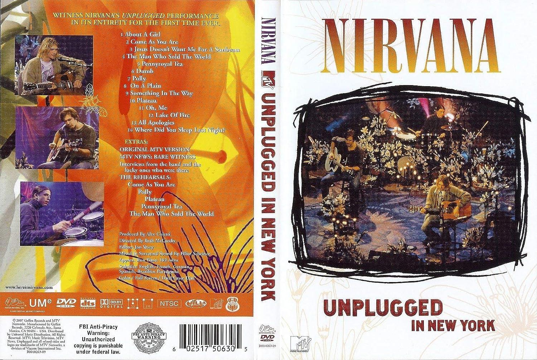Nirvana Unplugged Dvd Full