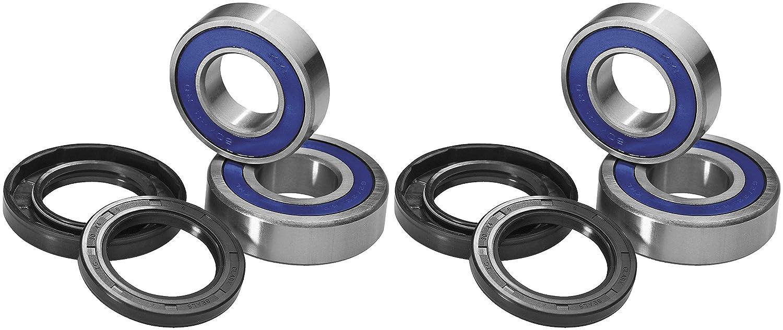 QUADBOSS Front Wheel Bearing Kits for Polaris RZR XP 900 2011-2014